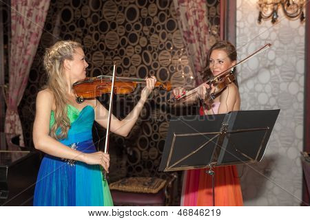 Funny Violinist