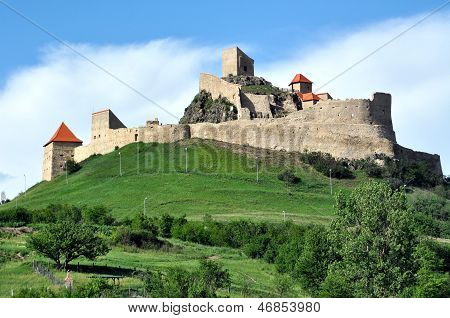 The fortress of Rupea, Transylvania, Romania