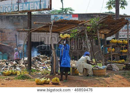 Tugurios de Kampala, Uganda