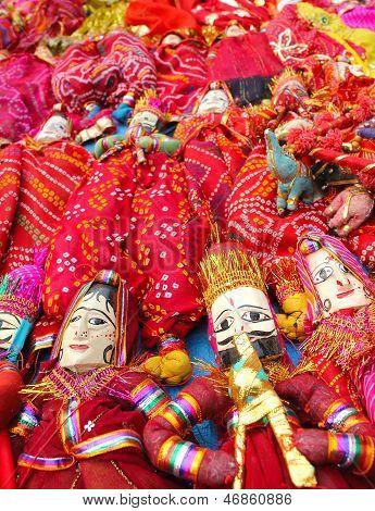 Dilli Haat, Rajasthani Puppet