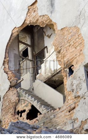 Exposed Stairway - Havana, Cuba