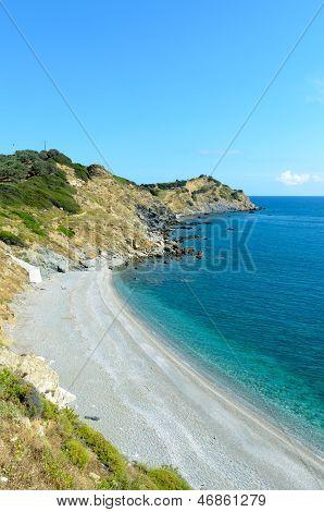 Skiathos Coastline Cliffs