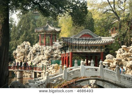 Beihai Park In Beiging