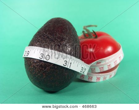 Tomato Avocado Measuring