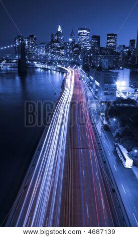 Tráfico de la ciudad de Nueva York