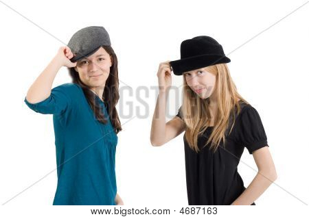 Girlfriends With Caps