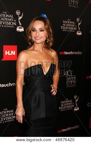 LOS ANGELES - JUN 16:  Giada De Laurentiis arrives at the 40th Daytime Emmy Awards at the Skirball Cultural Center on June 16, 2013 in Los Angeles, CA