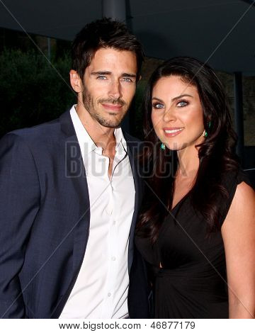 LOS ANGELES - JUN 15:  Brandon Beemer, Nadia Bjorlin attends The Leukemia & Lymphoma Society 2013 Man & Woman of the Year Gala at the Skirball Cultural Center on June 15, 2013 in Los Angeles, CA