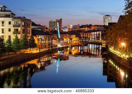 Leeds river Aire