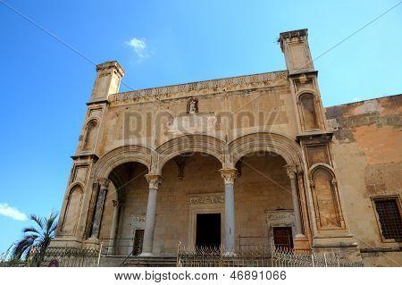 Santa Maria della Catena church. Palermo, Sicily, Italy