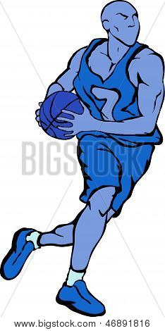 Vector Basektball Player