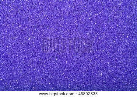 Violet Texture Cellulose Foam Sponge Background