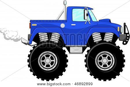 monstertruck 4x4 cartoon