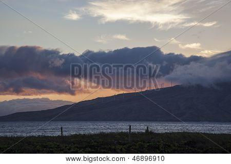 Stormy Maui Sunset