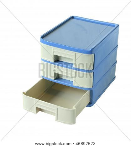 Plastic Drawers Cabinet