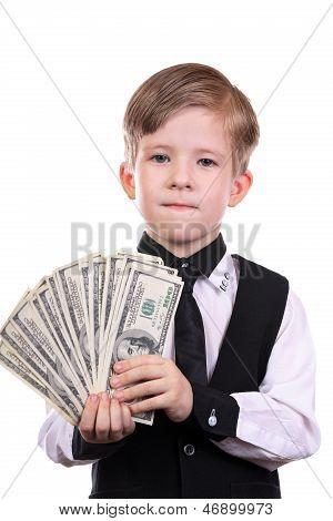 Boy As A Banker