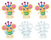picture of chibi  - The collection of cartoon chibi fantasy creatures  - JPG