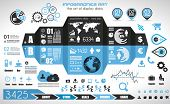 picture of presenting  - Infographic elements  - JPG