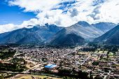 Urubamba City In Peru ,South America .