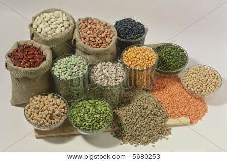 Beans and lentils