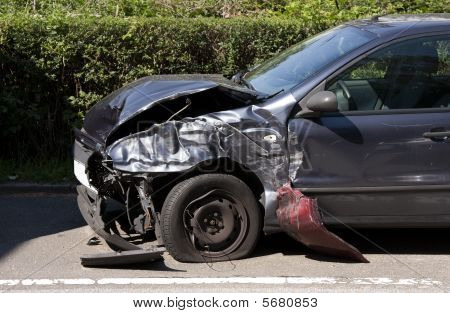 Front End Car Crash