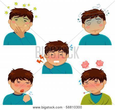 sickness symptoms