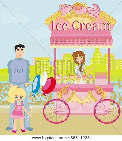 Ice Cream Mobile Shop