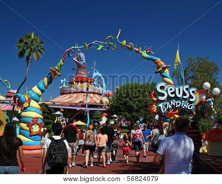 Dr. Seuss Landing