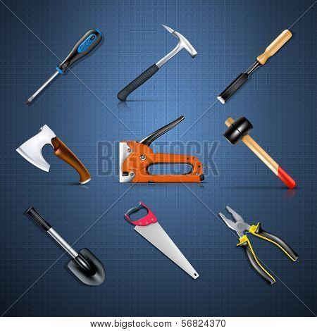 Industrial tool set