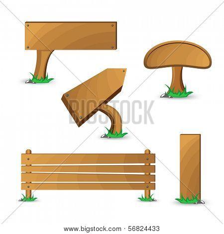 Wood tablets