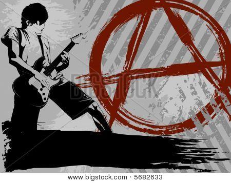 Punk rock background