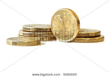 Dólar australiano de duas moedas