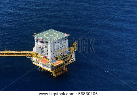 Living Quarter Of Offshore Oil Rig