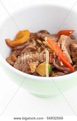 noodle with beef