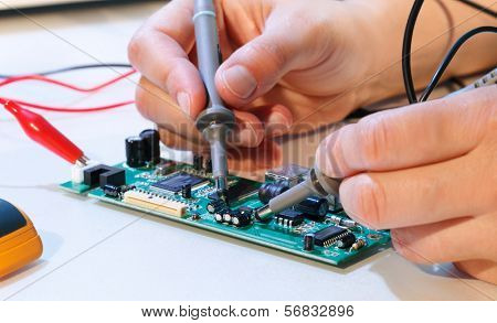 development of an electronic micro processor