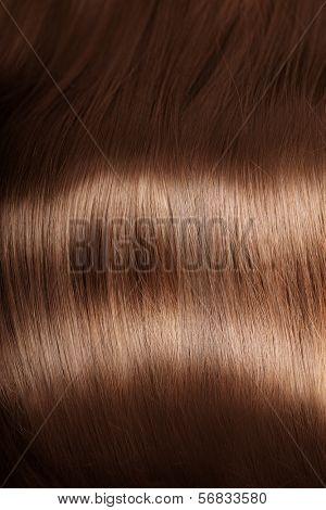 Shiny texture hair. Hair texture
