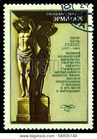 Vintage  Postage Stamp. Peter Paul  Rubens.