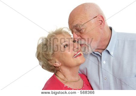 Senior Couple - Affectionate