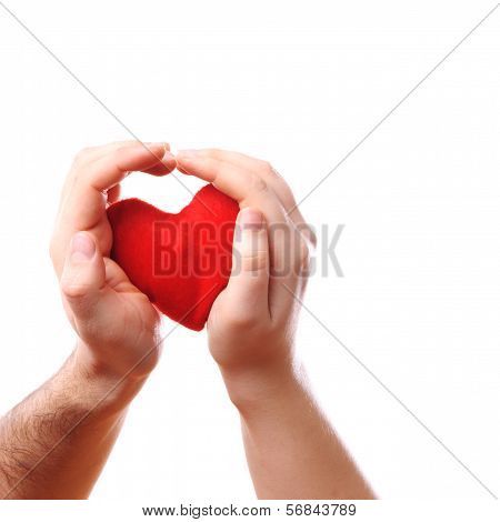 Male Heart Hands
