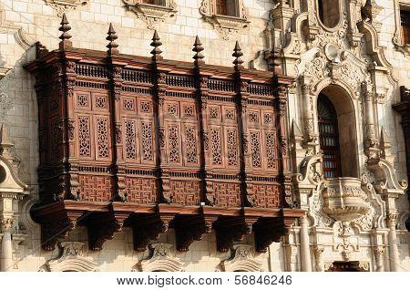 Peru, Lima, Arzobispal Palace