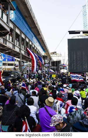 Yingluck Government Protestors