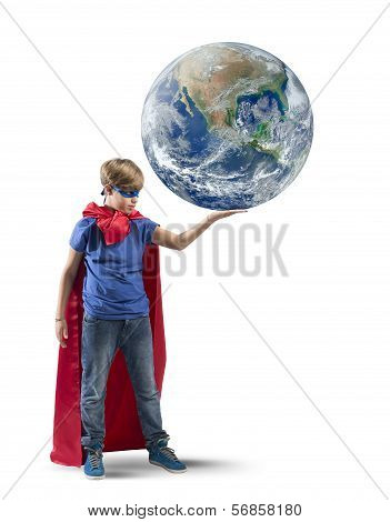 Little Superhero Save The World