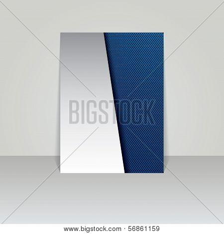 Brochure Card Banner Metal