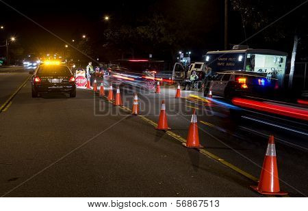DUI Check point