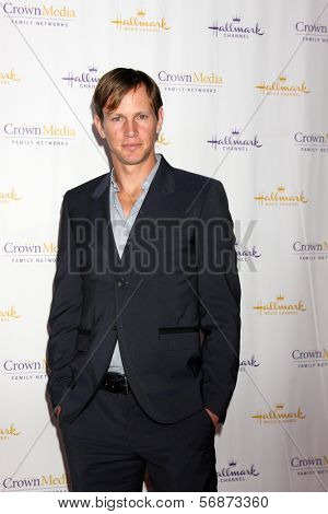 LOS ANGELES - JAN 11:  Kip Pardue at the Hallmark Winter TCA Party at The Huntington Library on January 11, 2014 in San Marino, CA