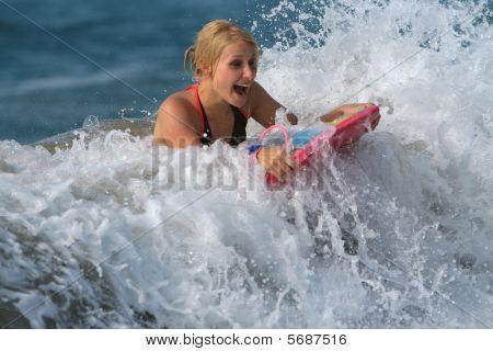 Body-boarding Fun