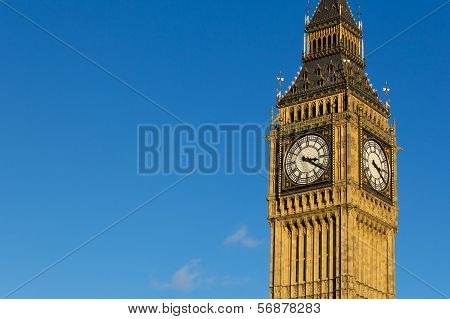 Big Ben with Copyspace on the Left