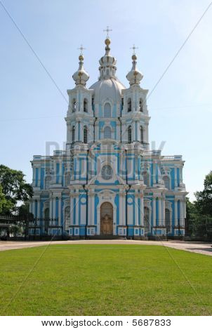 Smolny Cathedral. St. Petersburg