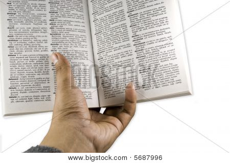 Hand Read Book