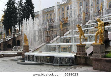Grand Cascade. Peterhof (petrodvorets)